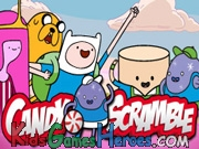 Play Adventure Time - Candy Scramble