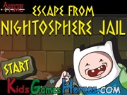 Play Adventure Time - Escape From Nightosphere Jail