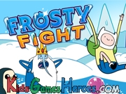 Hora de Aventura Frosty Fight