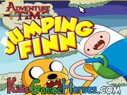 Play Adventure Time - Jumping Finn