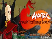Play Avatar - Fire Nation Barge Barrage