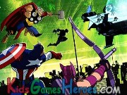 Play Avengers vs Gamma Monsters