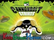 Play Ben 10 - Cannonbolt Strikes