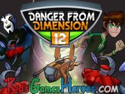 Play Ben 10 - Danger From Dimension 12