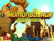 Play Ben 10 - Humungousaur Giant Force