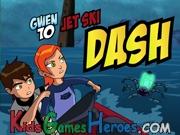 Play Ben 10 - Jet Sky Dash