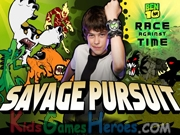Play Ben 10 - Savage Pursuit