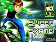 Play Ben 10 - Super Skate