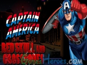Captain America - Red Skull and Crossbones Icon