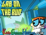 Play Dexter Laboratory - Lab On The Run