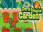 Play Dora the Explorer - Magical Garden