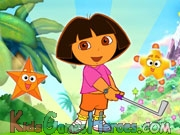 Play Dora the Explorer - Star Mountain Mini-Golf