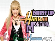Dress up Hannah Montana Icon