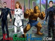 Fantastic Four Dress Up Icon