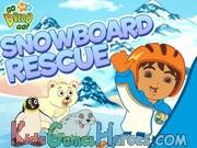 Go Diego Go - Snowboard Rescue Icon