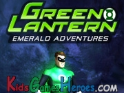 Play Green Lantern - Emerald Adventures