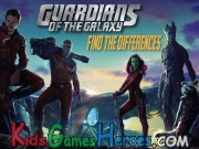 Play Guardians Of The Galaxy - Find The Differences