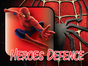 Play Heroes Defence - Spiderman