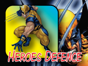 Play Heroes Defence - Wolverine