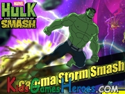 Play Hulk - Gamma Storm Smash