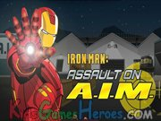 Play Iron Man 2 - Assault on A.I.M.
