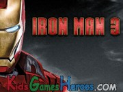 Iron Man 3 - Hidden Numbers Icon