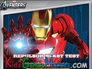 Play Iron Man - Repulsor Blast Test