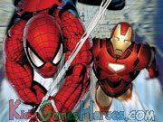 Play Ironman and Spiderman - Animation