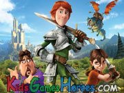 Justin And The Knights Of Valour - Find The Differences Icon