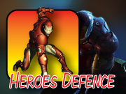 Play Heroes Defence - Iron Man