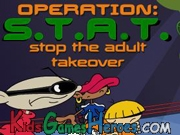 Play Kids Next Door - Operation: S.T.A.T.