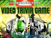 Play LEGO - Hero Factory Video Trivia Game
