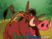 Lion King - Timon and Pumbaa - Bug Blaster Icon