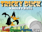 Play Looney Tunes - Tricky Duck Volleyball