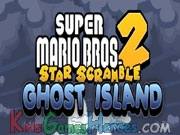 Play Mario Star Scramble 2 - Ghost Island