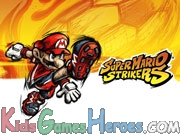 Play Mario Strike Soccer