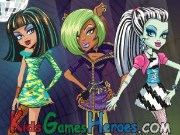 Play Monster High - Dawn of the Dance
