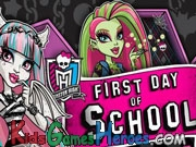 Play Monster High - First Day Of School Dress Up Game
