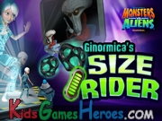 Play Monsters Vs Aliens - Ginormica Size Rider