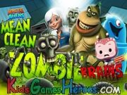 Play Monsters Vs Aliens - Mean, Clean, Zombie...Brains