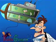 Play Phineas And Ferb - Down Perry-Scope