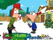 Phineas and Ferb - Gadget Golf - Winter Holiday Edition Icon
