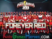 Play Power Rangers 20th Anniversary - Forever Red