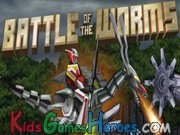 Play Power Rangers - Battle of the Worms