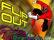 Power Rangers - Flip Out Icon