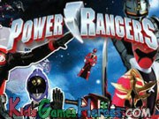 Play Power Rangers - Hidden Numbers
