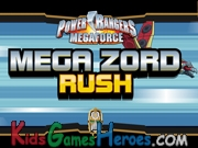Play Power Rangers Megaforce - Megazord Rush