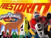 Play Power Rangers - Megazord Firestorm