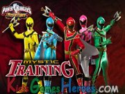 Play Power Rangers Mystic Force - Mystic Training