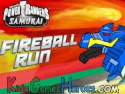 Power Rangers Samurai - Fireball Run Icon